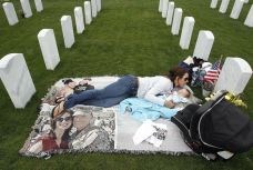 At Miramar National Cemetery Everyday. Photo by Hayne Palmour